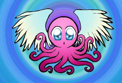 Takokami, god of the octopi (purple)